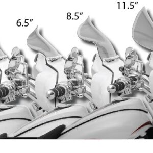 Windshield Klock Werks Flare Batwing 96-13 – 4 misure