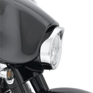 Ghiera faro stile visiera Electra e Street Glide fino al 2013