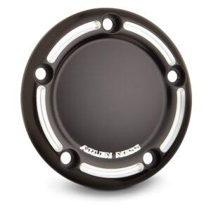 Timer Cover Arlen Ness Slot Track Black Twin Cam 99-16