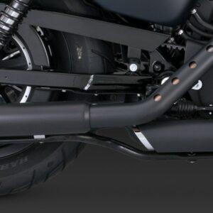 Terminali Twin Slash Black Sportster 2014 up
