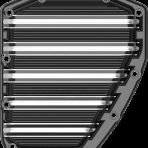 Arlen Ness 10 Gauge Cam Cover Black Twin Cam 01-16