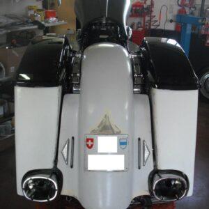 Kit Retrotreno Touring 2009-13 per Scarichi Monster Ovals