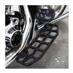Joker Serrated Floorboard Black Club Style TOURING 99-20 SOFTAIL 00-17