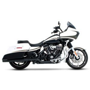 Rinehart Extreme True Dual Exhaust Black Touring 2009-16