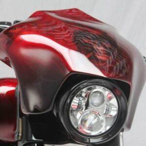 Sport Fairing 26″ Vallese Baggers per tutti i modelli Touring con inclinazione canotto