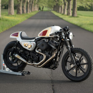 SELLA E TELAIO CAFE' RACER ROLAND SANS SPORTSTER 04-UP