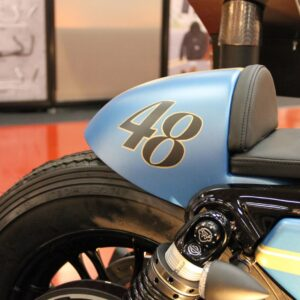 SELLA E TELAIO CAFE' RACER CULT-WERK SPORTSTER 48 FORTY EIGHT