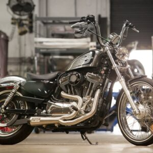 SISTEMA DI SCARICO 2 IN 1 TWO BROTHERS RACING COMP-S ACCIAIO SPORTSTER 14UP