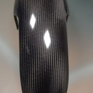 RACE CARBON FRONT FENDER SOFTAIL M8 REINFORCED RACING FINISH