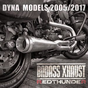 Sistema completo Red Thunder Dyna 06-17 Racing 2: 1 SATIN