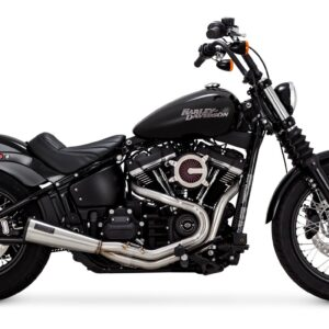 VANCE & HINES, STAINLESS 2-1 UPSWEEP EXHAUST SOFTAIL M8 2018 UP